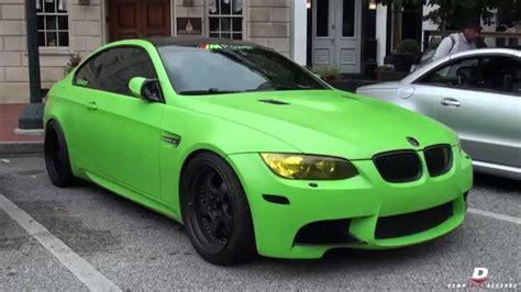 green bmw matte green bmw e92 m3