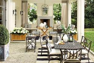 Black And White Patio Furniture by Suzanne Kasler S Summer 2014 Collection How To Decorate