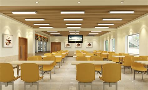 office canteen design canteen interior design with tv