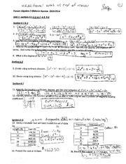 pre algebra midterm exam review algebra 1 review answers test review unit 2 answer key