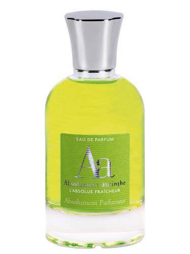 Le Parfum Dinterdits Absolument Absinthe by Absolument Absinthe Absolument Parfumeur Perfume A