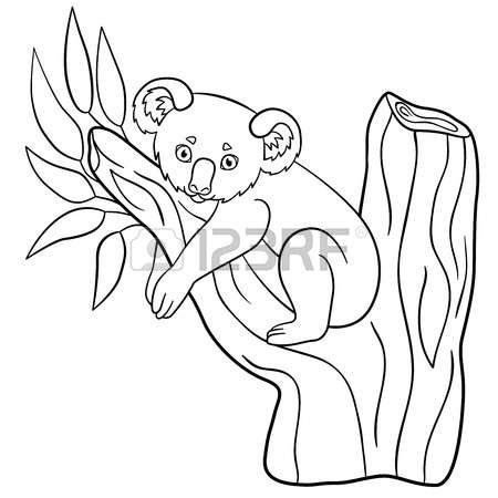 eucalyptus tree coloring page eucalyptus coloring download eucalyptus coloring