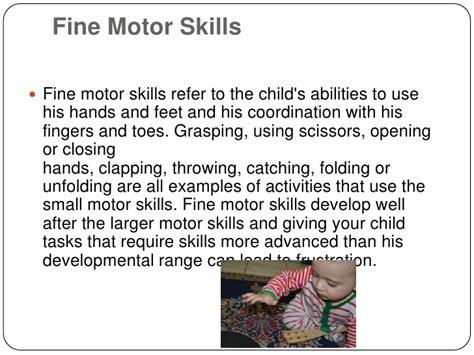 small motor skills definition child motor development
