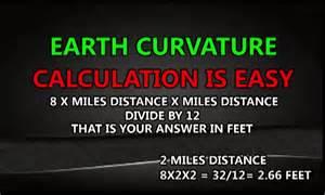 curvature of the earth calculator earthscurvature com