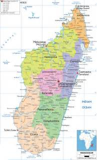 Madagascar World Map by Madagascar Maps