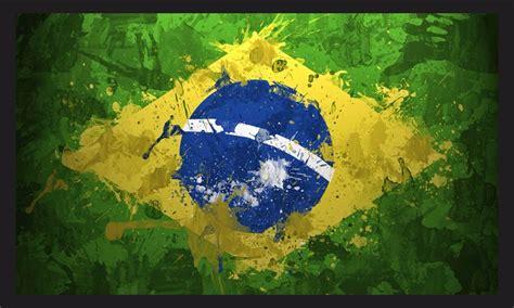 quadro decorativo bandeira  brasil bandeiras  moldura