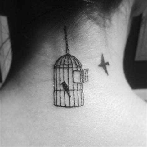bird cage tattoo tattoos pinterest