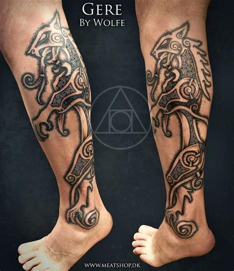 uffe design helmet tattoos by uffe meatshop tattoo copenhagen druidry