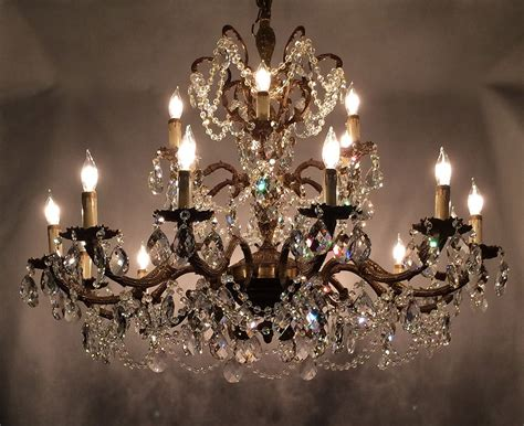 Like A Chandelier Transforming An Antique Brass Chandelier Into A Masterpiece Prism World