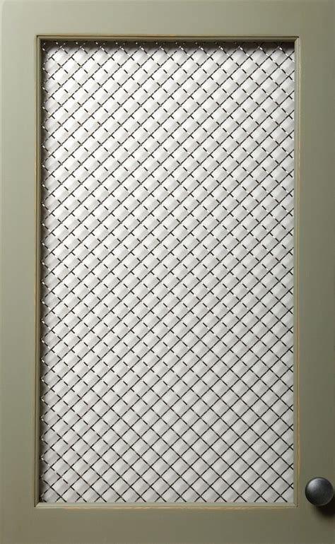 Wire Mesh Inserts For Cabinet Doors by Cabinets With Mesh Inserts Home Kitchens
