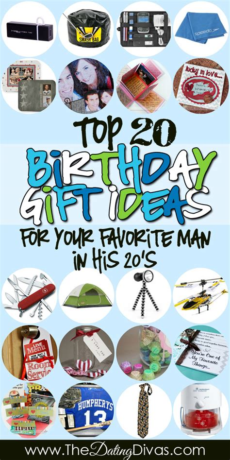 gift ideas for boyfriend birthday gift ideas for him list