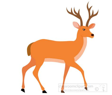 clipart deer deer clipart deer ruminant animal with antlers clipart