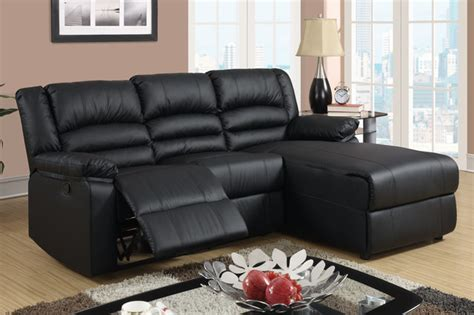 leather sectional sofa with chaise and recliner small black leather reclining sectional sofa set recliner