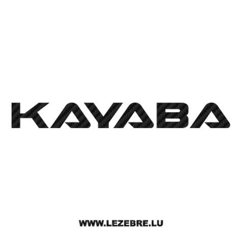 Kyb Sticker sticker carbone kayaba logo