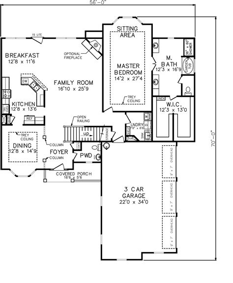 vacation house floor plans vacation house floor plan