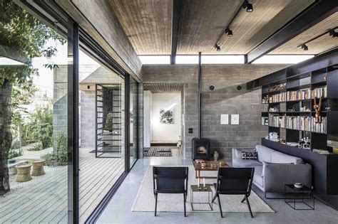 baring house bare house jacobs yaniv architects archdaily