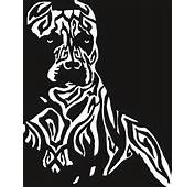 Tribal Pitbull Design Sticker / Decal For Your Car Boat