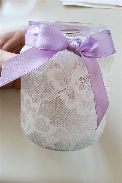 come decorare un vaso di vetro come decorare barattoli di vetro per creare dei portacandele