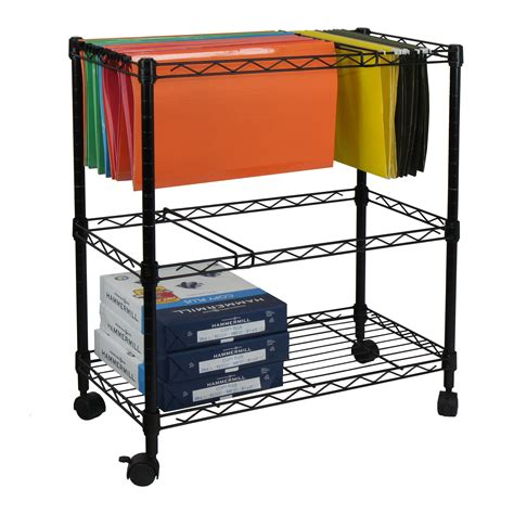 amazon kitchen amazon com oceanstar portable 2 tier metal rolling file