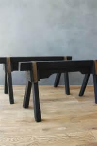 table basse avec treteaux ezooq