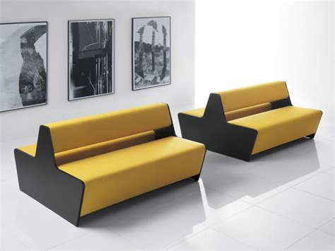double sided couch two sided module sofa magnitude office reality