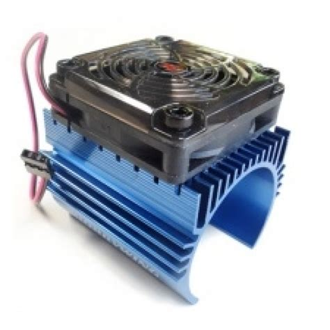 heater and cooler fan combo hobbywing ezrun 44 x 60mm motor heat with 5v