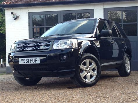 land rover freelander used java black land rover freelander for sale sussex