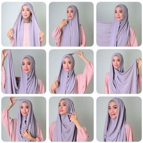 tutorial hijab simple pashmina sifon 54 tutorial hijab pashmina sifon simple 2018