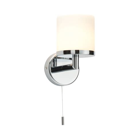 Saxby Bathroom Lighting Saxby 39608 Lipco Single Chrome Effect Bathroom Wall Light