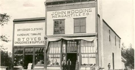 wooding s mercantile company in slaughter washington