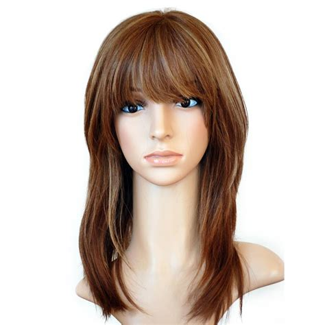 With Wig On by Wig Best Quality Remy European Hair Wig With