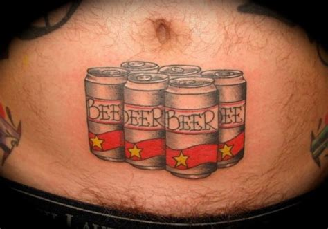 6 pack tattoo 13 who prove the belly is a