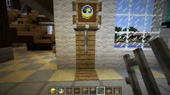 Wall Mounted Grandfather Clock Minecraft Furniture 1 4 Update Youtube