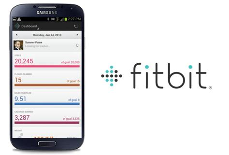 how to sync fitbit to android fitbit now syncs to galaxy s 4 broader android device support is coming