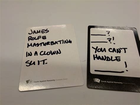 how to make custom cards against humanity custom cards against humanity cards wil wheaton dot net