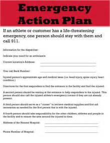 emergency action plan template tristarhomecareinc