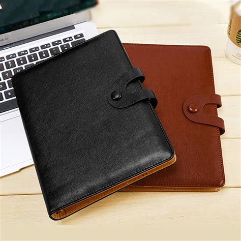 Agenda Book Binder aliexpress buy ruize a5 spiral notebook leather cover planner agenda 2017 new office