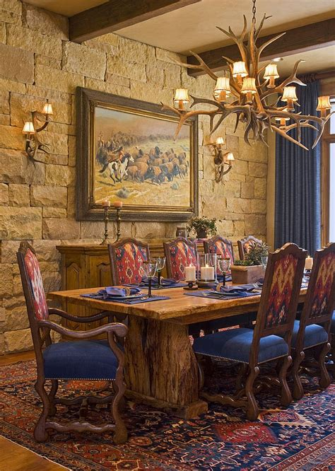 rustic dining room lighting french country dining room