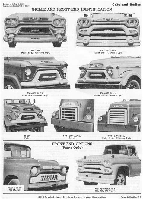 1958 GMC Advertisements   58 GMC Fleet Option Truck - THE