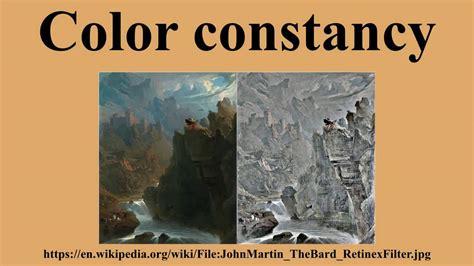 color constancy color constancy