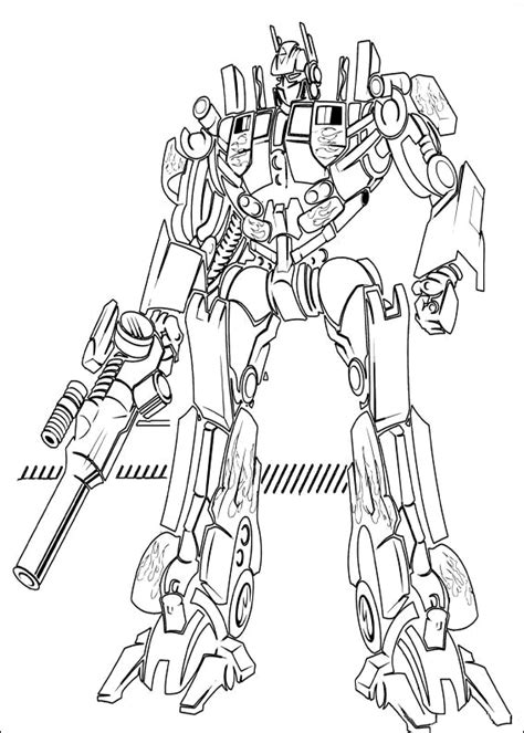 coloring page transformers coloring pages free printable coloring