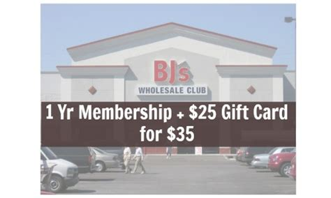 Bj S Gift Card Deals - 10 bj s membership after gift card living social deal southern savers