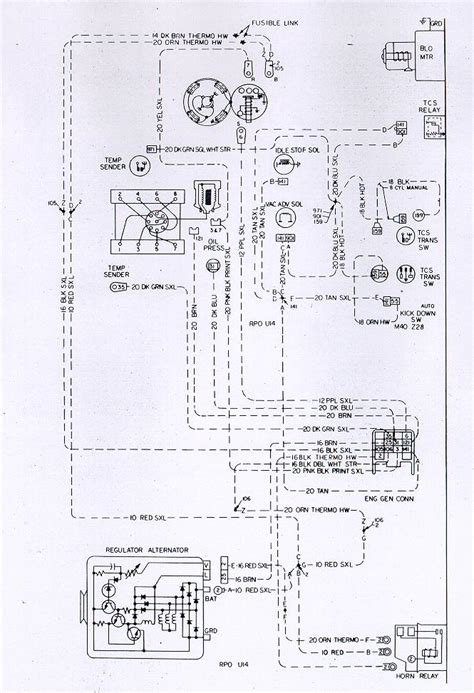 auto wiring diagram chevrolet camaro  engine harness electrical system diagram