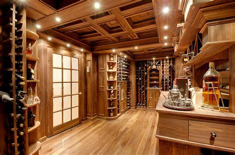 collection  lavish wine cellars homes   rich
