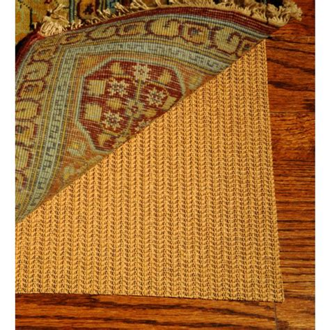safavieh rug pad safavieh grid beige 10 ft x 14 ft non slip synthetic rubber rug pad pad120 10 the home depot
