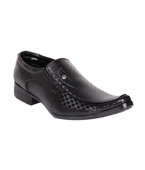 derby kohinoor shining black formal shoes price in india