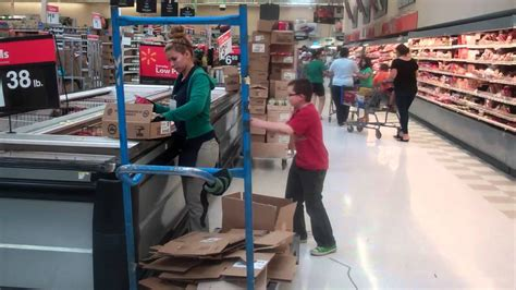 my dares unsespecting wal mart stocker