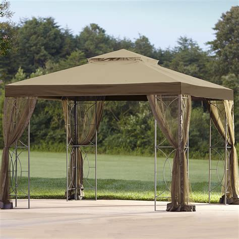 gazebo shop essential garden 10 ft x 10 ft callaway gazebo shop