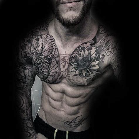 tattoo japanese chest 30 best japanese chest tattoos for men images on pinterest