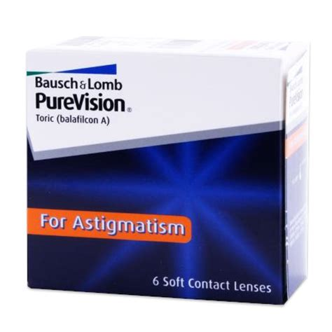 Purevision Toric For Astigmatism Contact Lenses By Bausch
